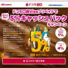 ドコモ口座VisaプリペイドでGiveMe 5%キャッシュバックキャンペーン攻略!